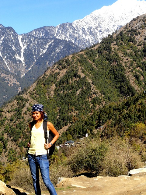 Darshana at Triund Hill, the crown jewel of Dharamshala