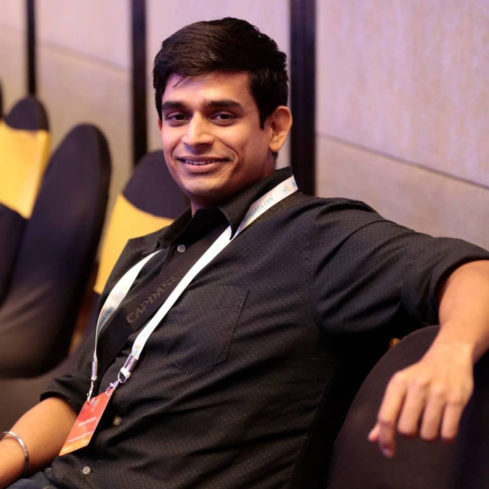 Kaushal at a conference