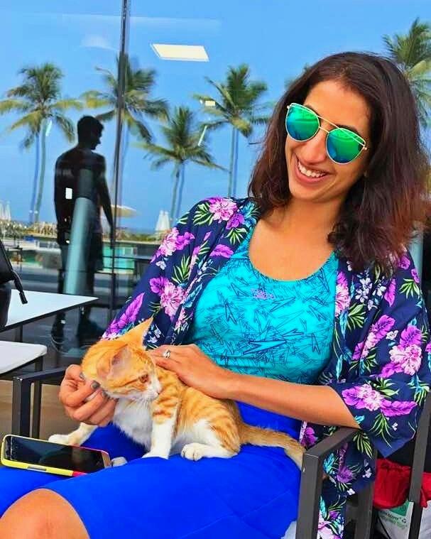 Caturday chat with Mumbai city animal angelMalika