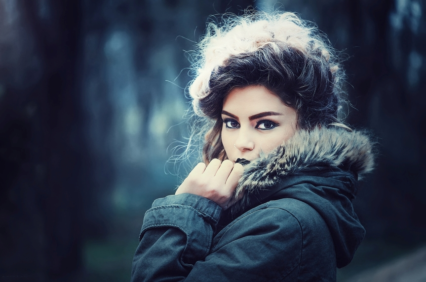 How to naturally beautify hair in winter