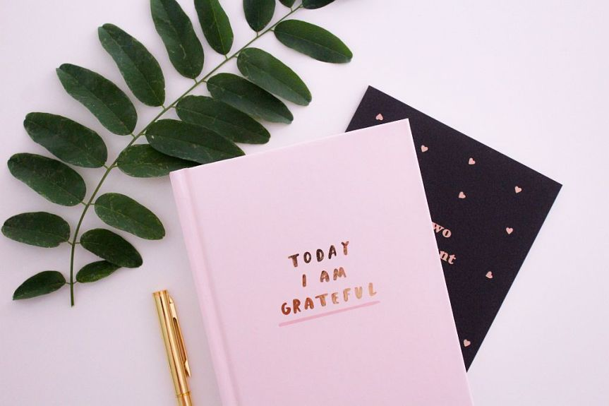 Give up perfection and trygratitude